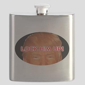 SAVE AMERICA, DUMP TRUMP Flask