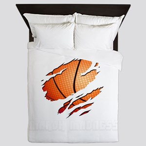 march madness Queen Duvet