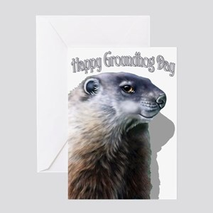 Happy Groundhog Day Greeting Cards