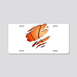 march madness Aluminum License Plate