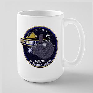 USS Virginia SSN 774 Large Mug