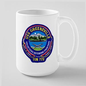 USS Greeneville SSN 772 Large Mug