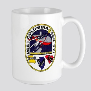 USS Columbia SSN 771 Large Mug
