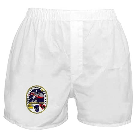 USS Columbia SSN 771 Boxer Shorts