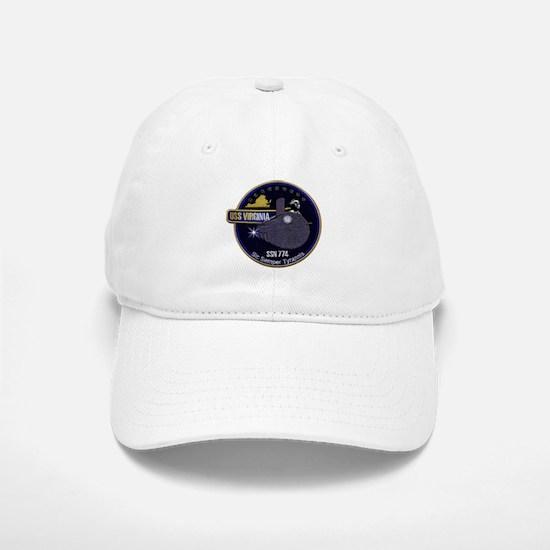 USS Virginia SSN 774 Baseball Baseball Cap
