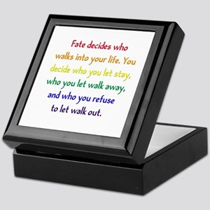 Fate Decides Keepsake Box