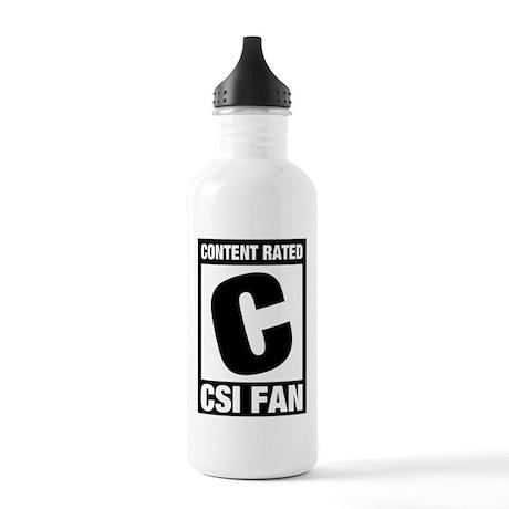 CSI Fan Stainless Water Bottle 1.0L
