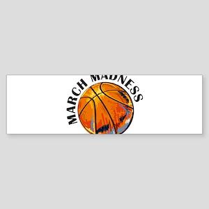 march madness Bumper Sticker