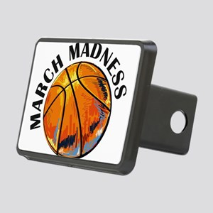 march madness Rectangular Hitch Cover
