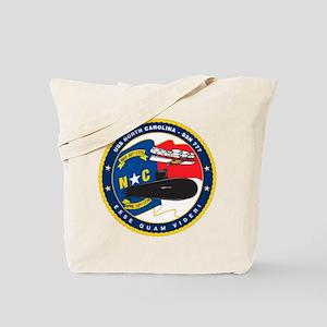 USS (PCU) North Carolina SSN 777 Tote Bag