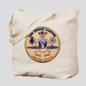 USS Jimmy Carter SSN 23 Tote Bag