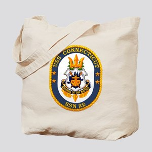 USS Connecticut SSN 22 Tote Bag