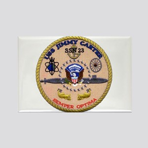 USS Jimmy Carter SSN 23 Rectangle Magnet