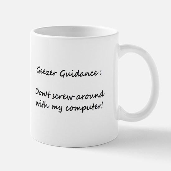 Small Geezer Guidance Mug #Mug