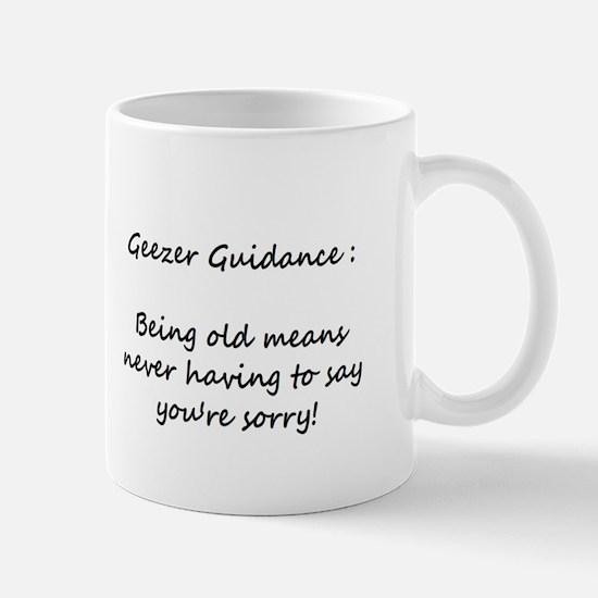 Small Geezer Guidance Mug #9