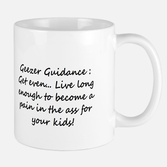 Small Geezer Guidance Mug #6