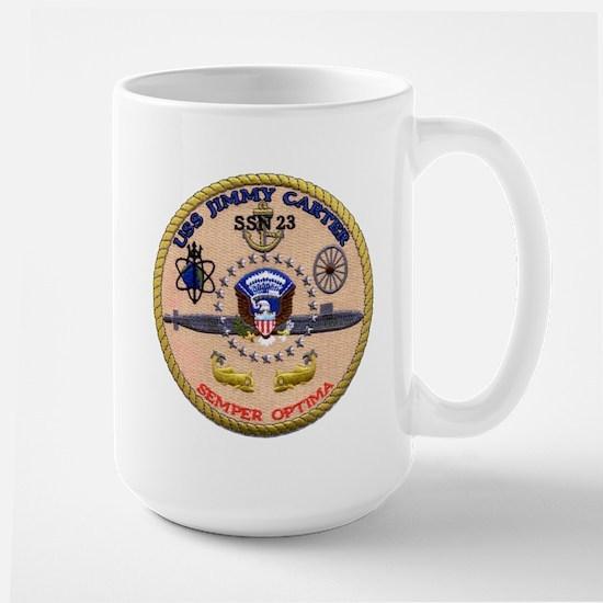 USS Jimmy Carter SSN 23 Large Mug