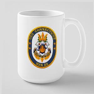 USS Connecticut SSN 22 Large Mug