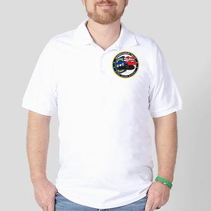 USS (PCU) North Carolina SSN 777 Golf Shirt