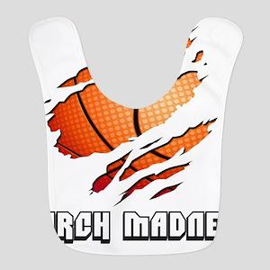 march madness Polyester Baby Bib