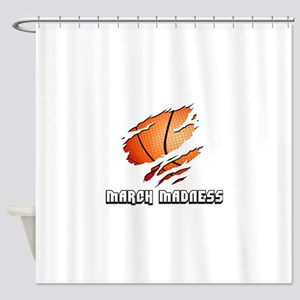 march madness Shower Curtain