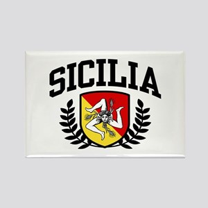 Sicilia Rectangle Magnet
