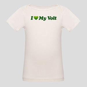 I Love My Volt Organic Baby T-Shirt