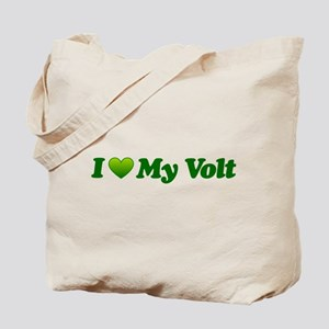 I Love My Volt Tote Bag
