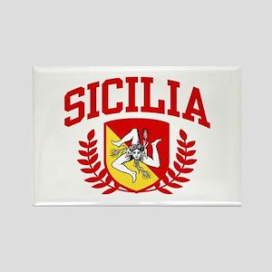 Sicilia Rectangle Magnet