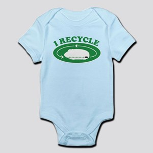 I Recycle Baby Light Bodysuit