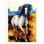"PS Botticelli horse,20"" x 16""Small Poste"