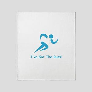 I've Got The Runs! Throw Blanket
