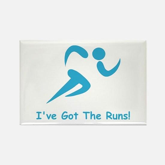 I've Got The Runs! Rectangle Magnet (10 pack)