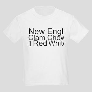 Clam Chowder Kids Light T-Shirt