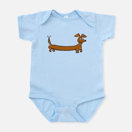 Doxie - Dachshund Cartoon Infant Bodysuit