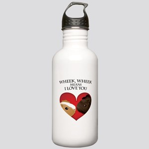Wheek, Wheek means I LoveYou Stainless Water Bottl