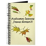 Autumn Leaves Jesus Doesn't Journal