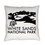 White Sands National Park Everyday Pillow