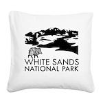White Sands National Park Square Canvas Pillow