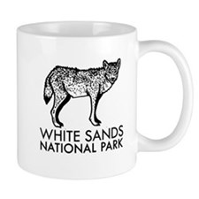White Sands National Park Coyote Mugs