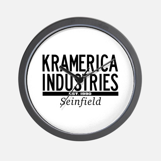 Kramerica Industries Wall Clock