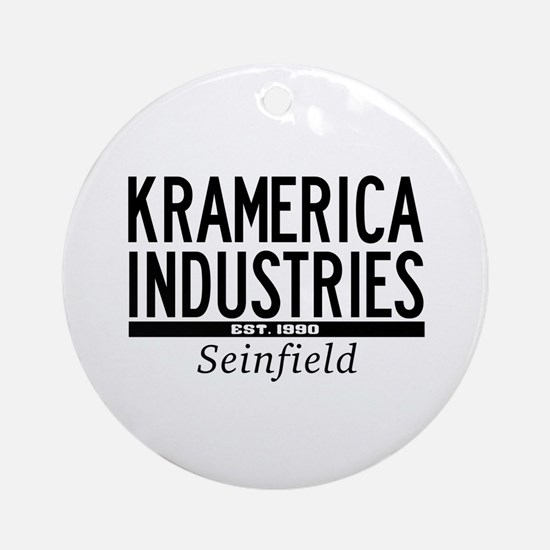Kramerica Industries Ornament (Round)