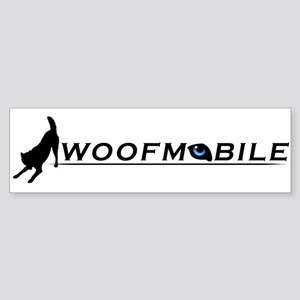Woofmobile Bumper Sticker