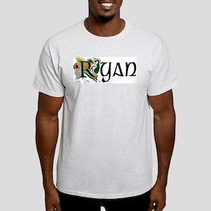 Ryan Celtic Dragon Light T-Shirt