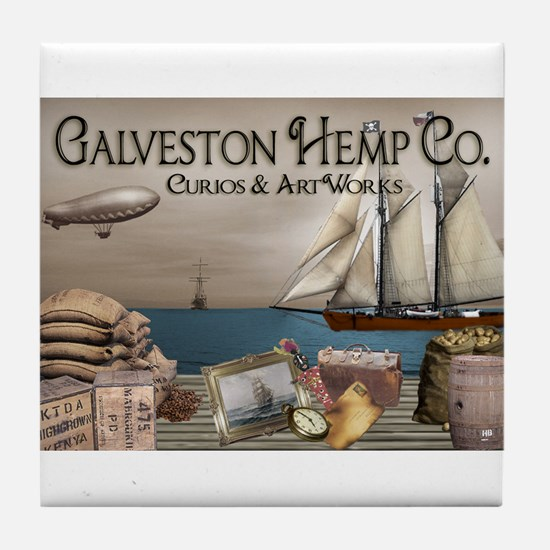 Galveston Hemp Co. Tile Coaster