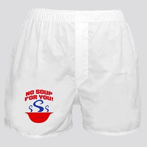 No Soup For You Seinfieild Boxer Shorts