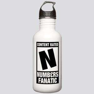 Numb3rs Fan Stainless Water Bottle 1.0L