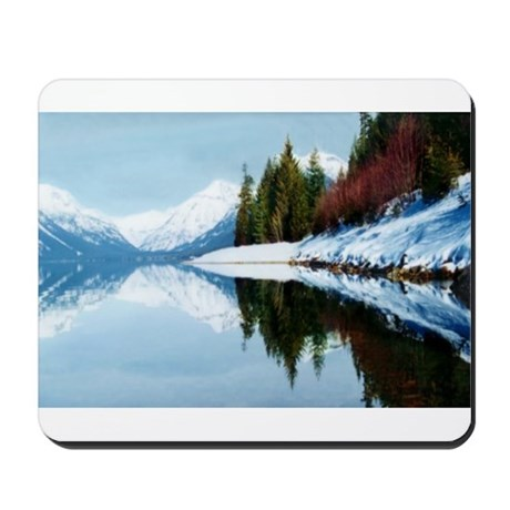 Lake McDonald Reflection Mousepad