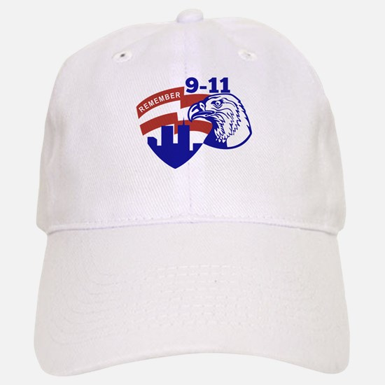 9-11 American Eagle Baseball Baseball Cap