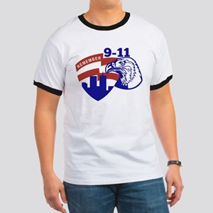 9-11 American Eagle Ringer T